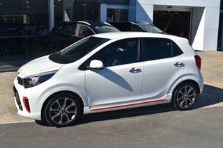 2018 Kia Picanto JA MY18 GT-Line White 4 Speed Automatic Hatchback