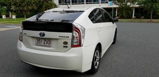 2012 Toyota Prius ZVW30R MY12 Hybrid Pink Continuous Variable Hatchback