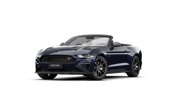 New Ford Mustang FN 2021.50MY High Performance Springwood, 2021 Ford Mustang FN 2021.50MY High Performance Blue 10 Speed Sports Automatic Convertible