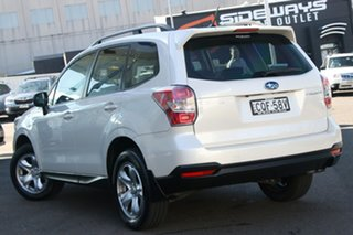 2013 Subaru Forester S4 MY13 2.5i Lineartronic AWD White 6 Speed Constant Variable Wagon.