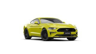 2021 Ford Mustang FN MY20 GT 5.0 V8 Yellow Peel 10 Speed Automatic Fastback.