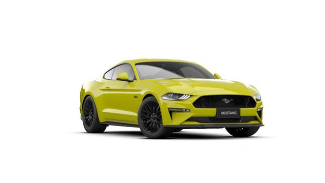 New Ford Mustang FN 2021.50MY GT Springwood, 2021 Ford Mustang FN 2021.50MY GT Yellow 6 Speed Manual Fastback