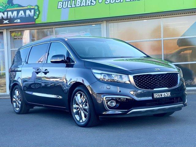 Used Kia Carnival Platinum Goulburn, 2017 Kia Carnival Platinum Grey Sports Automatic Wagon