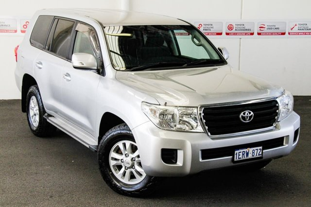 Pre-Owned Toyota Landcruiser VDJ200R MY13 GXL (4x4) Myaree, 2014 Toyota Landcruiser VDJ200R MY13 GXL (4x4) Silver Pearl 6 Speed Automatic Wagon