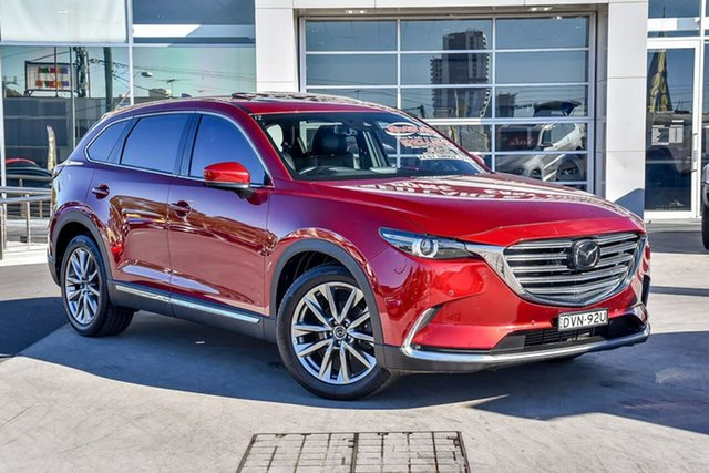 Used Mazda CX-9 TC Azami SKYACTIV-Drive i-ACTIV AWD Liverpool, 2018 Mazda CX-9 TC Azami SKYACTIV-Drive i-ACTIV AWD Soul Red 6 Speed Sports Automatic Wagon