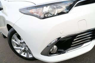 2016 Toyota Corolla ZRE182R Ascent Sport S-CVT Glacier White 7 Speed Constant Variable Hatchback.