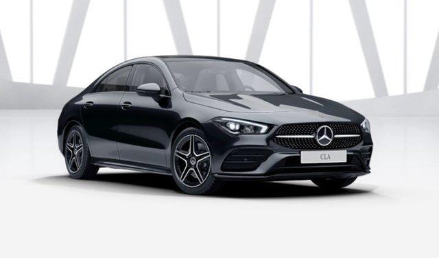 Demonstrator Mercedes-Benz CLA-Class C118 801+051MY CLA250 D-CT 4MATIC Mulgrave, 2021 Mercedes-Benz CLA-Class C118 801+051MY CLA250 D-CT 4MATIC Cosmos Black 7 Speed
