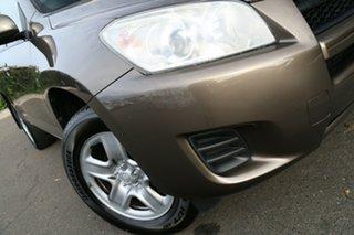 2011 Toyota RAV4 ACA38R MY11 CV 4x2 Liquid Bronze 4 Speed Automatic Wagon.