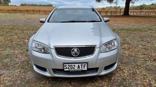 2011 Holden Commodore VE II Omega Sportwagon Silver 6 Speed Sports Automatic Wagon.