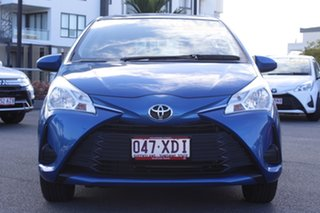 2017 Toyota Yaris NCP130R Ascent Blue 4 Speed Automatic Hatchback