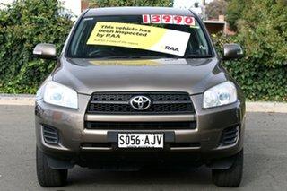 2011 Toyota RAV4 ACA38R MY11 CV 4x2 Liquid Bronze 4 Speed Automatic Wagon