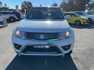 2015 Suzuki Grand Vitara JB Sport White 4 Speed Automatic Wagon