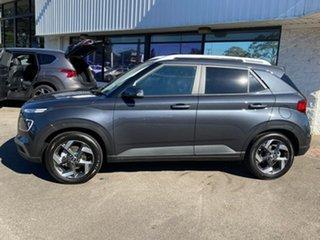 2021 Hyundai Venue QX.V3 MY21 Elite (Sunroof) Cosmic Grey 6 Speed Automatic Wagon.