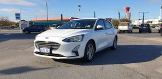 2019 Ford Focus SA 2019.75MY Trend Frozen White 8 Speed Automatic Hatchback.