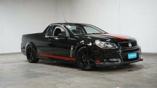 2014 Holden Ute VF MY14 SV6 Ute Storm Black 6 Speed Manual Utility.