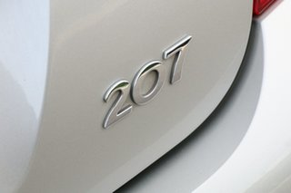 2008 Peugeot 207 A7 XT Lunar Mist 5 Speed Manual Hatchback