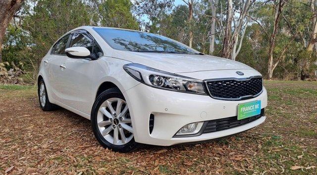 Used Kia Cerato YD MY17 SI Nuriootpa, 2016 Kia Cerato YD MY17 SI White 6 Speed Sports Automatic Sedan
