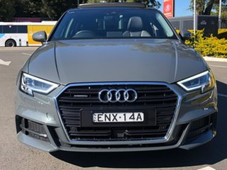 2017 Audi A3 8V MY17 S Line S Tronic Quattro Grey 7 Speed Sports Automatic Dual Clutch Sedan.