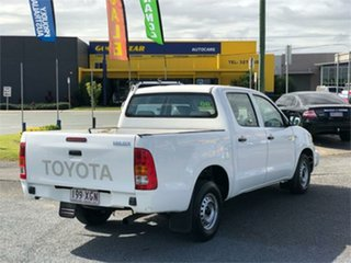 2005 Toyota Hilux TGN16R Workmate White 5 Speed Manual Utility
