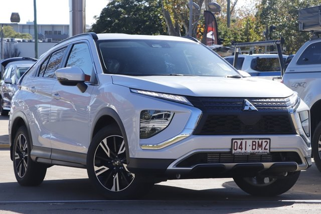 Demo Mitsubishi Eclipse Cross YB MY21 LS 2WD Toowoomba, 2020 Mitsubishi Eclipse Cross YB MY21 LS 2WD White Diamond 8 Speed Constant Variable Wagon