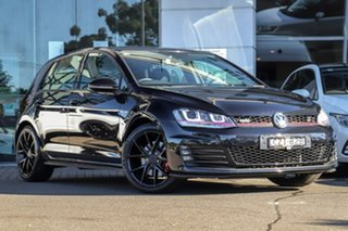 2015 Volkswagen Golf VII MY15 GTI DSG Black 6 Speed Sports Automatic Dual Clutch Hatchback.