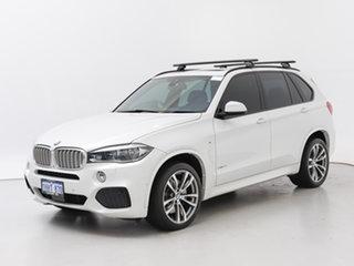 2016 BMW X5 F15 MY16 xDrive 50I White 8 Speed Automatic Wagon.