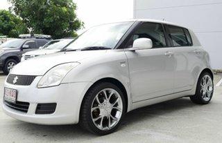 2007 Suzuki Swift RS415 Silver 4 Speed Automatic Hatchback.