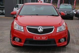 2014 Holden Cruze JH Series II MY14 SRi Z Series Red 6 Speed Sports Automatic Sedan.