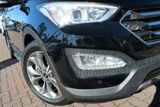 2014 Hyundai Santa Fe DM MY14 Highlander Black 6 Speed Sports Automatic SUV.