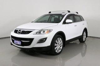 2009 Mazda CX-9 Luxury White 6 Speed Auto Activematic Wagon.