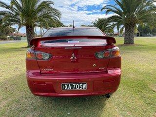 2013 Mitsubishi Lancer CJ MY13 VR-X Red/Black 6 Speed Constant Variable Sedan