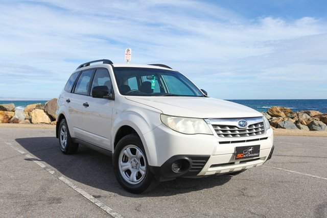 Used Subaru Forester S3 MY10 X AWD Lonsdale, 2010 Subaru Forester S3 MY10 X AWD White 4 Speed Sports Automatic Wagon