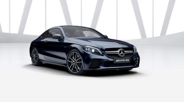 New Mercedes-Benz C-Class C205 801MY C43 AMG 9G-Tronic 4MATIC Berwick, 2021 Mercedes-Benz C-Class C205 801MY C43 AMG 9G-Tronic 4MATIC Cavansite Blue 9 Speed