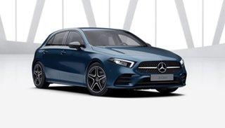 2021 Mercedes-Benz A-Class W177 801+051MY A180 DCT Denim Blue 7 Speed Sports Automatic Dual Clutch