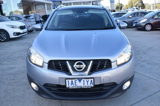 2013 Nissan Dualis J107 Series 3 MY12 +2 Hatch X-tronic 2WD Ti-L Grey 6 Speed Constant Variable.