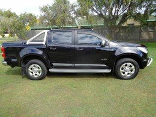 2012 Holden Colorado RG MY13 LTZ Crew Cab 4x2 Black 6 Speed Sports Automatic Utility.