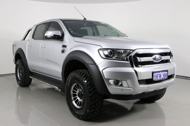 Used Ford Ranger PX MkII MY18 XLT 3.2 (4x4) Bentley, 2018 Ford Ranger PX MkII MY18 XLT 3.2 (4x4) Silver 6 Speed Manual Double Cab Pick Up