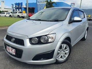 2014 Holden Barina TM MY15 CD Silver 5 Speed Manual Hatchback.