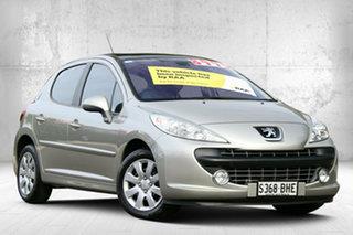 2008 Peugeot 207 A7 XT Lunar Mist 5 Speed Manual Hatchback.