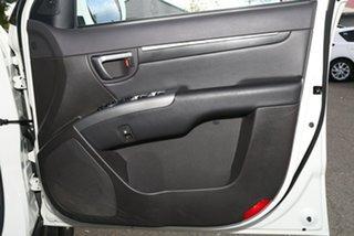 2011 Hyundai Santa Fe CM MY11 Highlander Vanilla White 6 Speed Sports Automatic Wagon