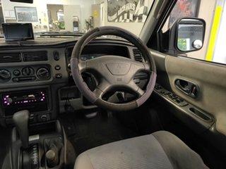 2002 Mitsubishi Challenger PA MY02 LS White 4 Speed Automatic Wagon
