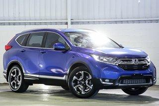 2017 Honda CR-V RW MY18 VTi FWD Blue 1 Speed Constant Variable Wagon.