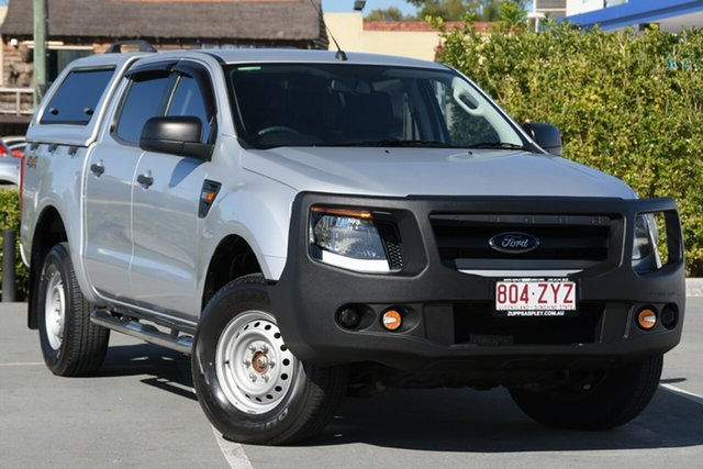 Used Ford Ranger PX XL Aspley, 2015 Ford Ranger PX XL Silver 6 Speed Sports Automatic Utility