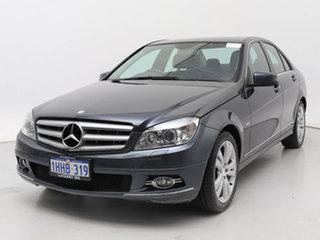 2007 Mercedes-Benz C200 W204 Kompressor Avantgarde Grey 5 Speed Auto Tipshift Sedan.