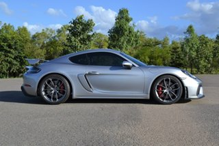 2020 Porsche 718 982 MY20 Cayman GT4 Silver 6 Speed Manual Coupe.