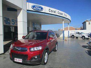 2015 Holden Captiva CG MY15 7 LS (FWD) Red 6 Speed Automatic Wagon.