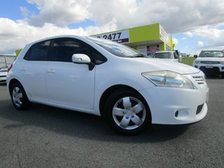 2012 Toyota Corolla ZRE152R MY11 Ascent White 4 Speed Automatic Hatchback