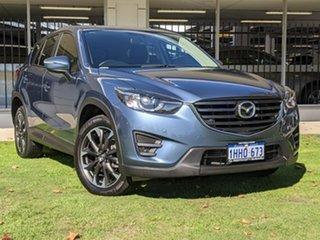 2016 Mazda CX-5 KE1022 Grand Touring SKYACTIV-Drive AWD Blue 6 Speed Sports Automatic Wagon.