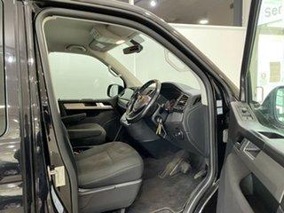 2016 Volkswagen Multivan T6 MY16 TDI340 SWB DSG Comfortline Black 7 Speed