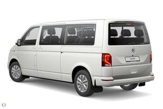 2021 Volkswagen Caravelle T6.1 MY21 TDI340 LWB DSG Trendline White 7 Speed.